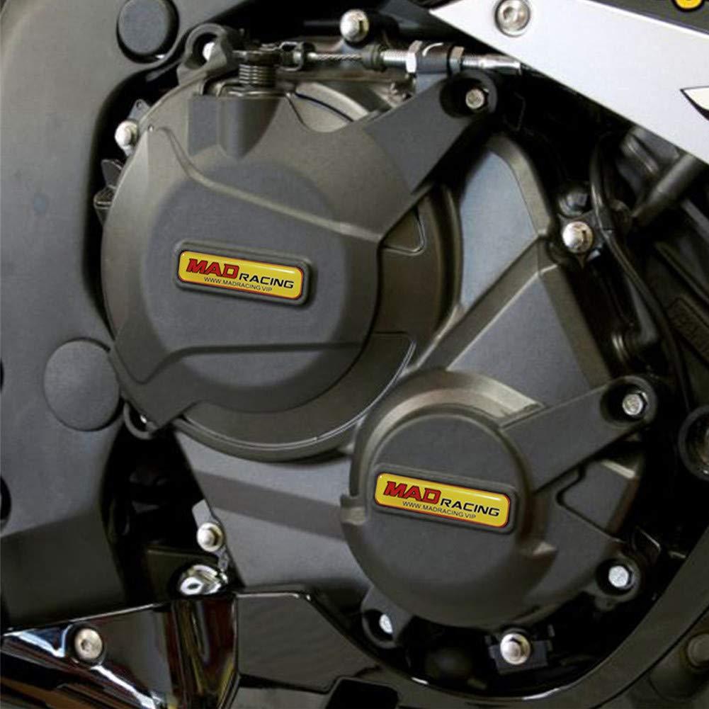 MADRACING CBR600RR 07-16 Motorbike Engine Cover Set Protection Guard//Slider