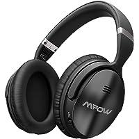 Mpow Noise Cancelling Kopfhörer (ANC), Bluetooth Kopfhörer Over Ear mit 25-30 Std Spielzeit, CVC6.0-Rauschunterdrückungs-Mikrofon, HiFi Stereo, 40mm-Dual-Drive-Laufwerk, Besserer Bass für PC/Handy