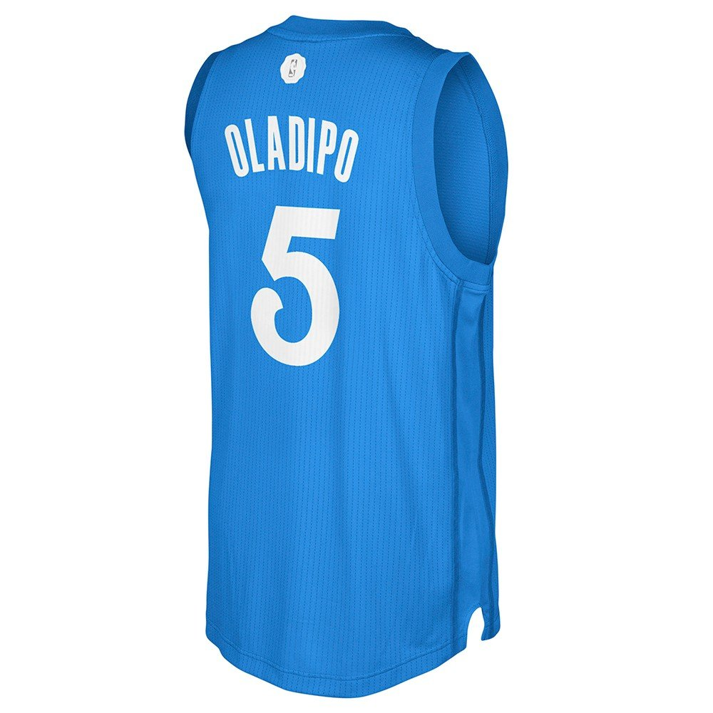 promo code ae226 b7aff Amazon.com : adidas Victor Oladipo OKC Thunder NBA Blue 2016 ...