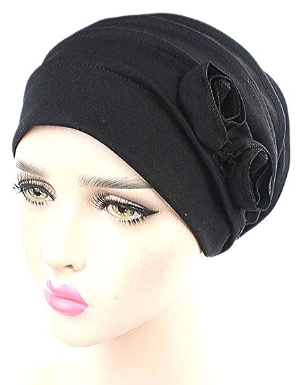 Racheljp Cancer Hat Chemo Hats Caps Women Turban Headwear For Hair Loss  Cancer Patients 1416e4f8a445