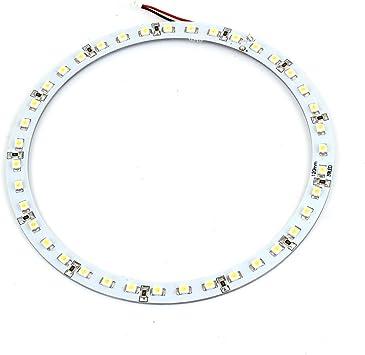 2pcs 120mm 39LED 1210//3528 Car Angel Eyes Halo Ring Light Headlight White Light