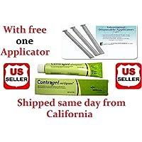 2 Pack Contragel Green Contraceptive Gel 60ml + Applicator