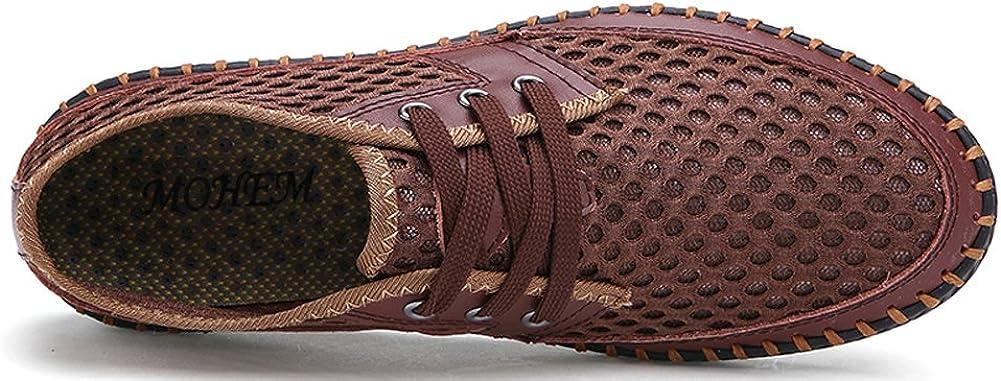 MOHEM Mens Womens Casual Mesh Water Shoes