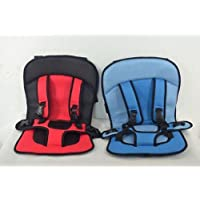 Cpixen Babies & Toddlers's Adjustable Baby Car Cushion Seat with Safety Belt Multi-function