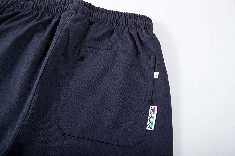 PANTALONE COULISSE CON TASCHE COL 3XL XS BLU NAVY tg