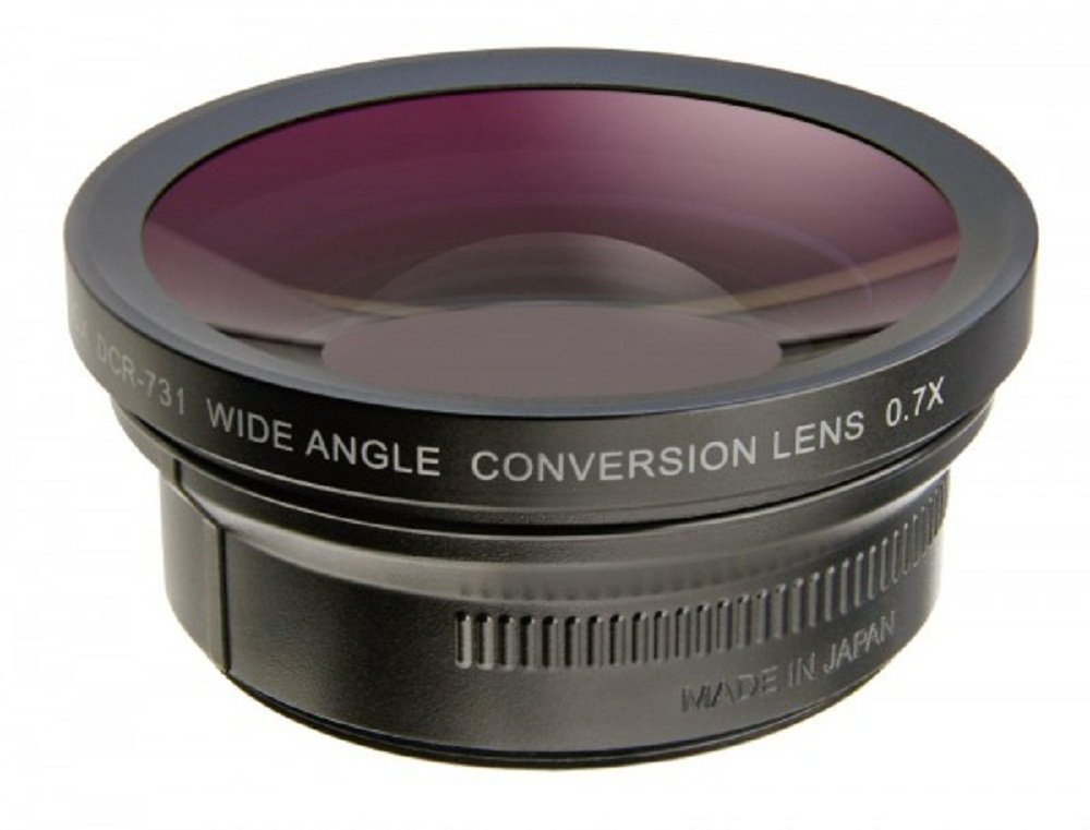 Raynox DCR-732 0.7x Wide Angle Lens by Raynox