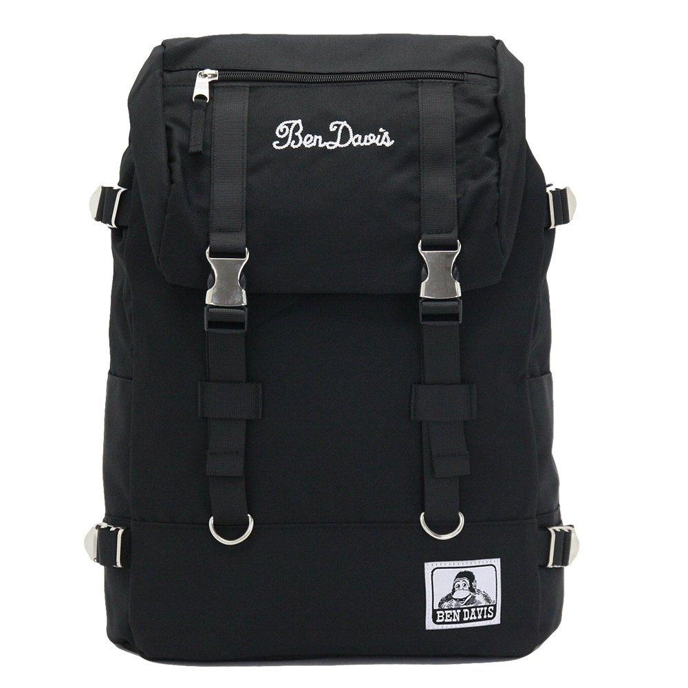 [ベン デイビス] リュックサック ベンデイビス人気NO.1のリュックサック BDW-9061 B071DM8VZF ブラックホワイト ブラックホワイト