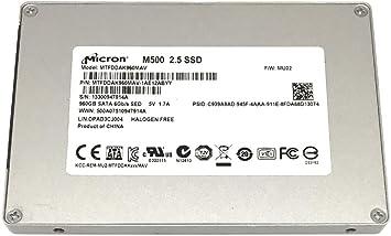 """MICRON 960GB SATA 6Gb//s 2.5"""" M500 SSD MTFDDAK960MAV MTFDDAK960MAV-1AE12ABYY"""