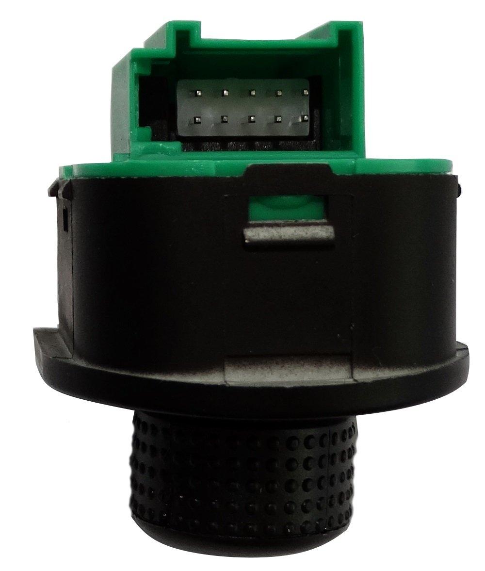 AERZETIX Boton para ajuste de espejos retrovisores laterales compatible con 1J1959565A para coche vehiculos C18703