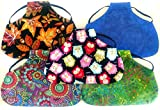 Twisted 2 Perfection Reversible Standard Size Chicken Saddles Hen Aprons (Set of 5 Grab Bag Patterns Vary)