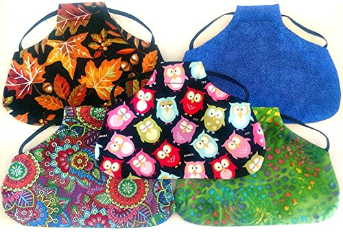 - Twisted 2 Perfection Reversible Standard Size Chicken Saddles Hen Aprons (Set of 5 Grab Bag Patterns Vary)