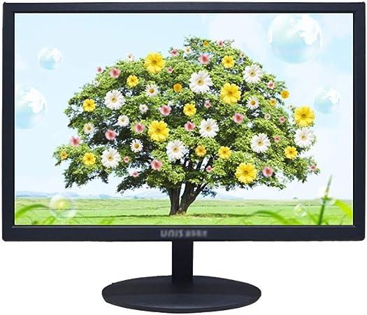 Monitor Monitor LCD LED Ordenador, Monitor De Escritorio Luz Púrpura De 20 Pulgadas, Oficina 60Hz Pantalla del Monitor De TV, Mate Material Pantalla De Protección Ocular Claro Super (Color : A): Amazon.es: