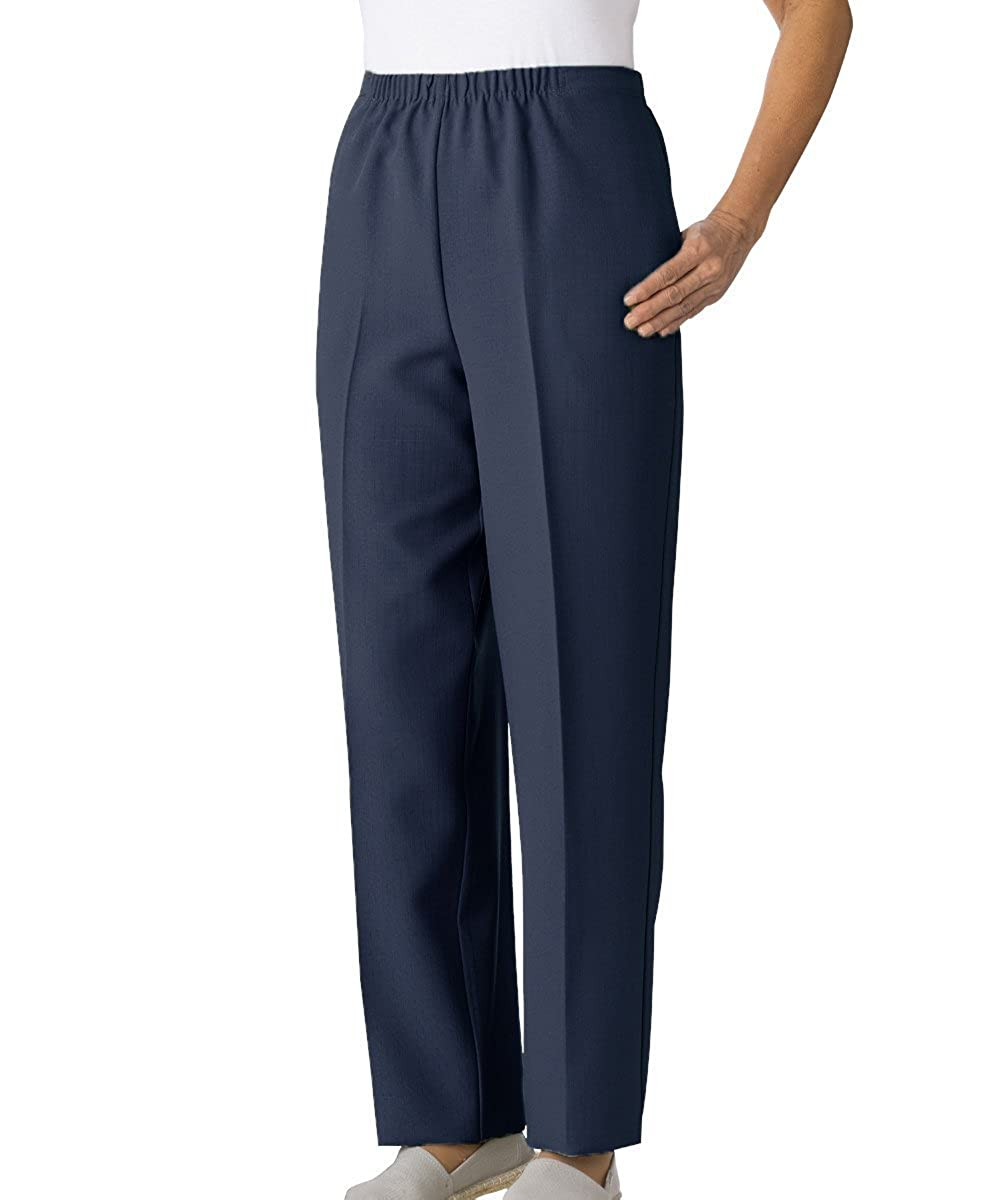 Silverts Womens Open Side Arthritis Adaptive Pants - Adjustable Closures Silvert' s 23230