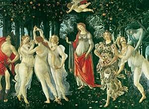 Clementoni 32541.2 - Puzzle de 2000 piezas, diseño de la Primavera de Botticelli