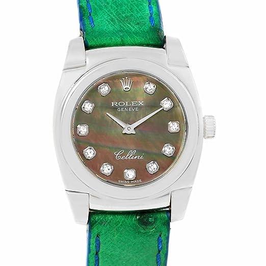Rolex Cellini cuarzo mujer reloj 5310/9 (Certificado) de segunda mano: Rolex: Amazon.es: Relojes