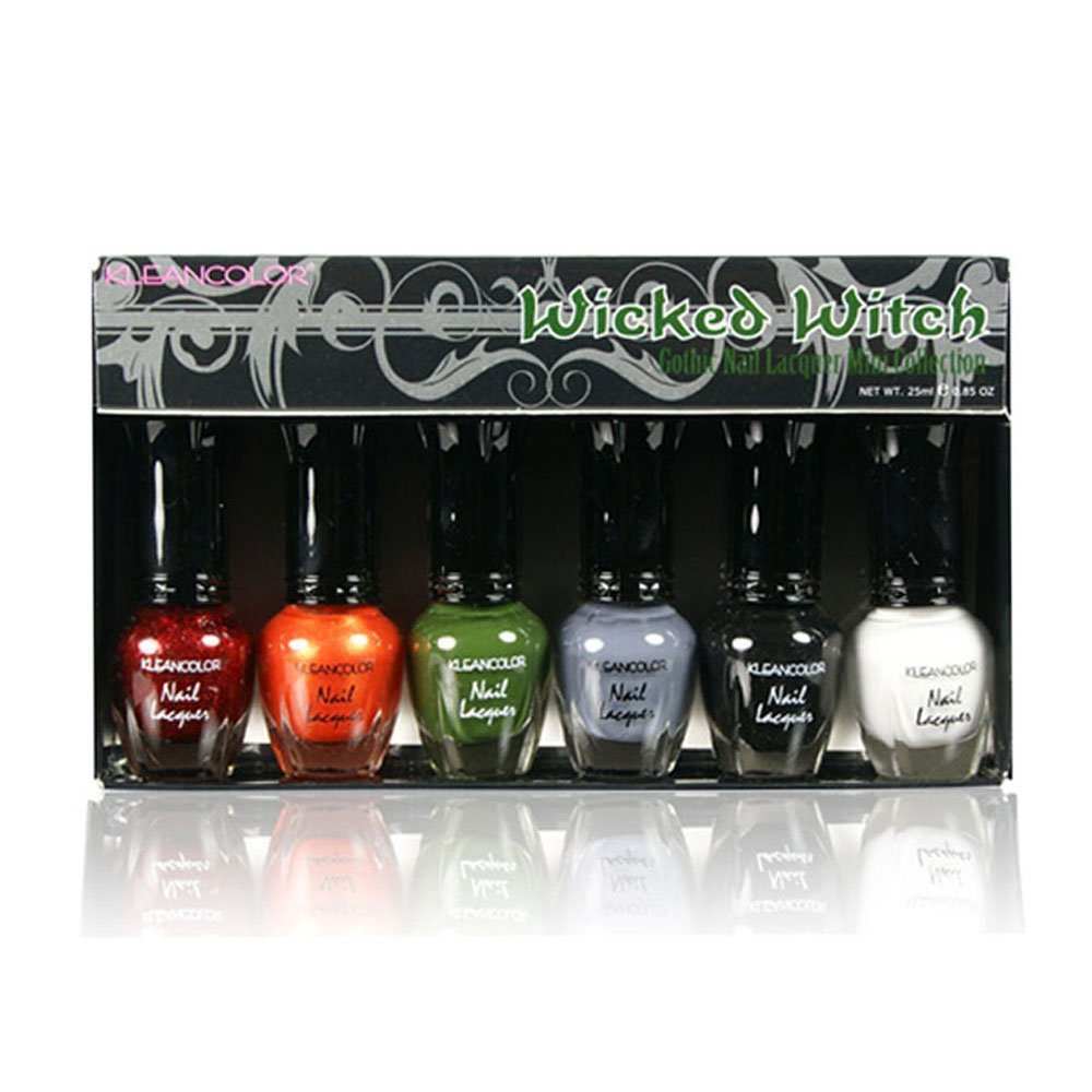 Amazon.com : Kleancolor Nail Polish PASTEL SET! Lot Of 6