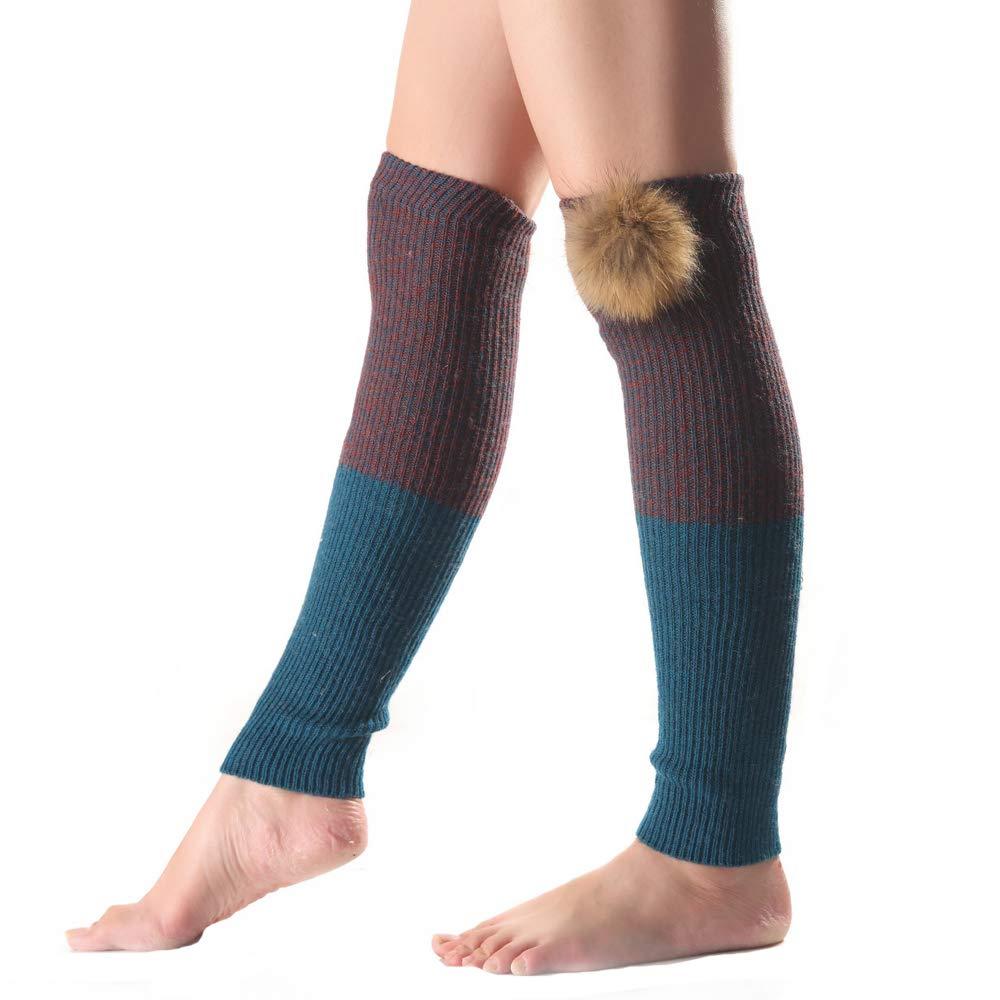 Cheerlife Damen Stiefel Stulpen Beinstulpen mit abnehmbarem