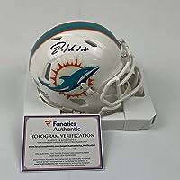 $174 » Autographed/Signed Jaylen Waddle Miami Dolphins Football Mini Helmet Fanatics COA