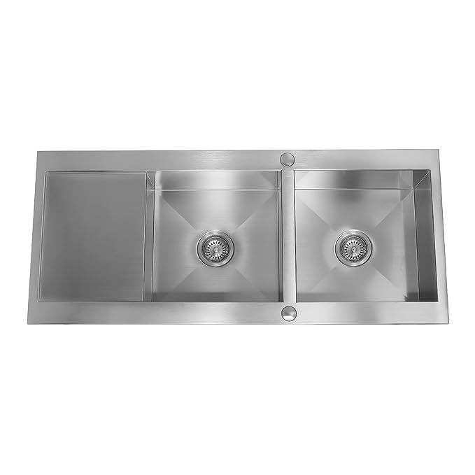 Opinioni per Enki – lavello da cucina in acciaio INOX 2.0 Two