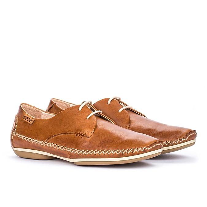 Pikolinos Roma W1R-4682 Mocasines de Cuero Mujer: Amazon.es: Zapatos y complementos