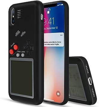 YOEDGE Game Boy Funda para iPhone X, Cárcasa Antigolpes Game ...