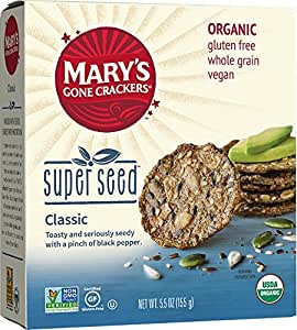 Mary's Gone Crackers, Super Seed Classic, 5.5 Ounce