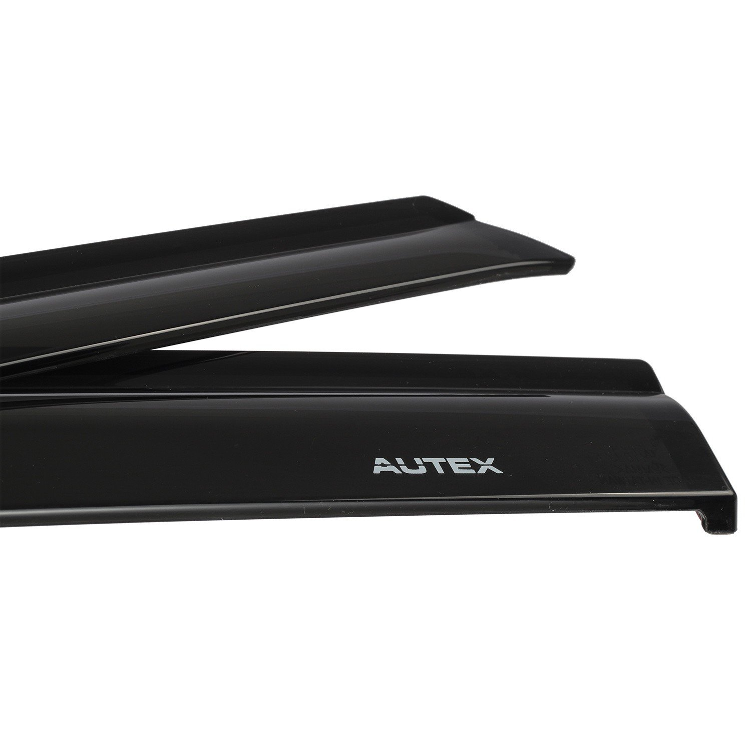 AUTEX Tape On Injection Window Deflectors Compatible with Toyota Camry 2012 2013 2014 Window Visor Rain Guards Made in Taiwan
