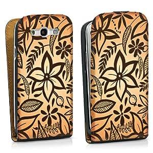 Diseño para Samsung Galaxy S3 i9300 / LTE i9305 DesignTasche black - Blooming Mix