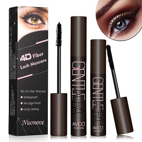Silk Soie Fiber Noir Extrêmement De 4d Cils Mascara Eyelash MascaraFibre Extension trQdChs