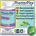 PhenterPlex Maximum Strength Fat Burner Formula - Dr. Recommended Diet Pills That Work Fast for Womens Weight Loss by Strong Appetite Suppressant and Maximum Strength Metabolism Booster to Lose Difficult Stored Belly Fat Fast, Proven Best Results 100% Gua