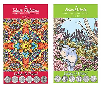 trends international adult coloring book butterfly designs