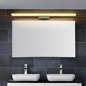 Lozse 14W LED Luminaire Salle De Bain Eclairage Salle De Bain Lumière Blanc  Chaud AC90