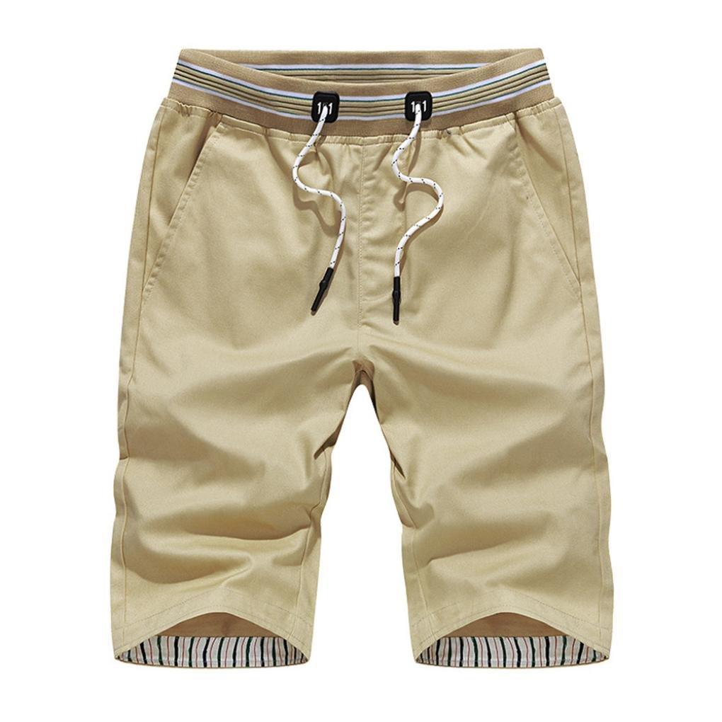 Allywit Shorts,Plus Size Men's Slim Fit Short Pants for Men Outdoor Wear Lightweight