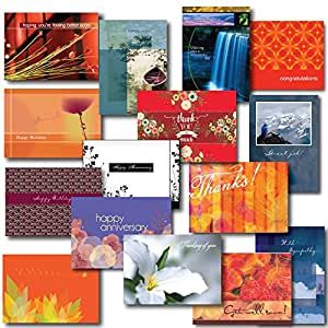 All-Occasion Greeting Card Assortment, Box Set of 30 Cards and Envelopes