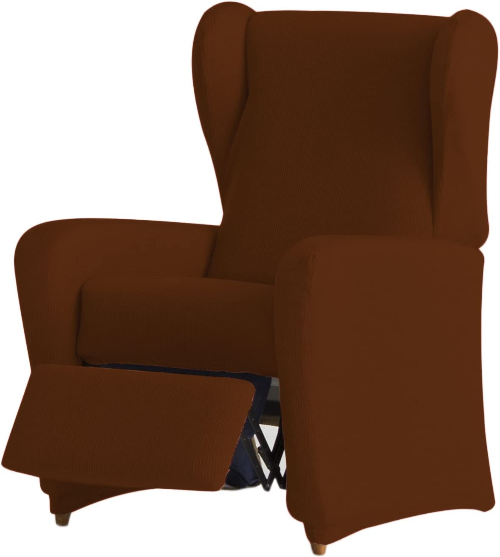 Eysa Ulises - Funda de sillón relax elástica, color caldera