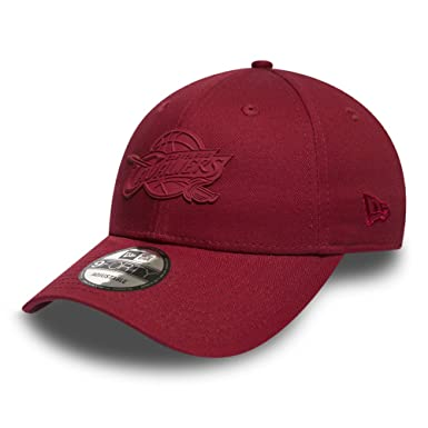 the best attitude 4dd9e 98ede New Era Cap – 9Forty Nba Cleveland Cavaliers Rubber Logo maroon size   Adjustable