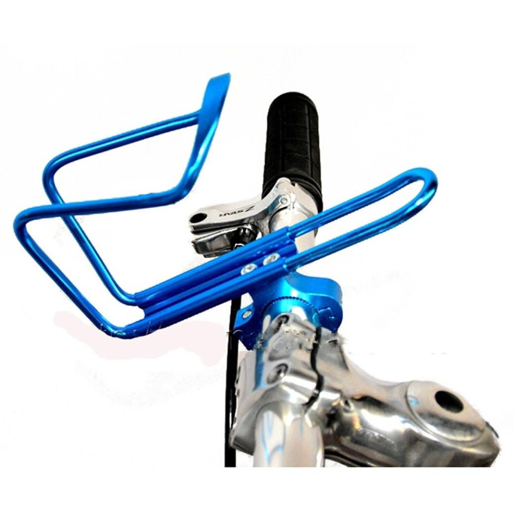 Witspace New Aluminum Alloy Bike Bicycle Cycling Drink Water Bottle Rack Holder Cage