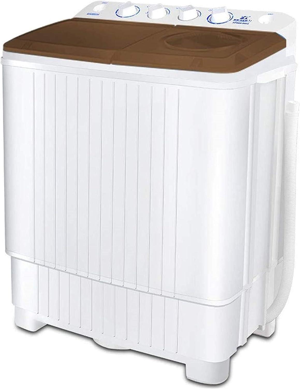 Lavadora portátil Lavadora for acampar, lavadora portátil, lavadora de bañera doble 13 kg Lavadora de capacidad total y secadora de giro for pisos Cocina pequeña Cocina 8 kg Lavadora de 5 kg de secado