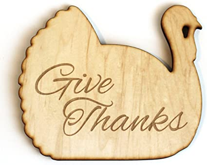 Amazon.com: Laser Engraved Wood Thanksgiving Turkey Trivet Hot Plate:  Health & Personal Care