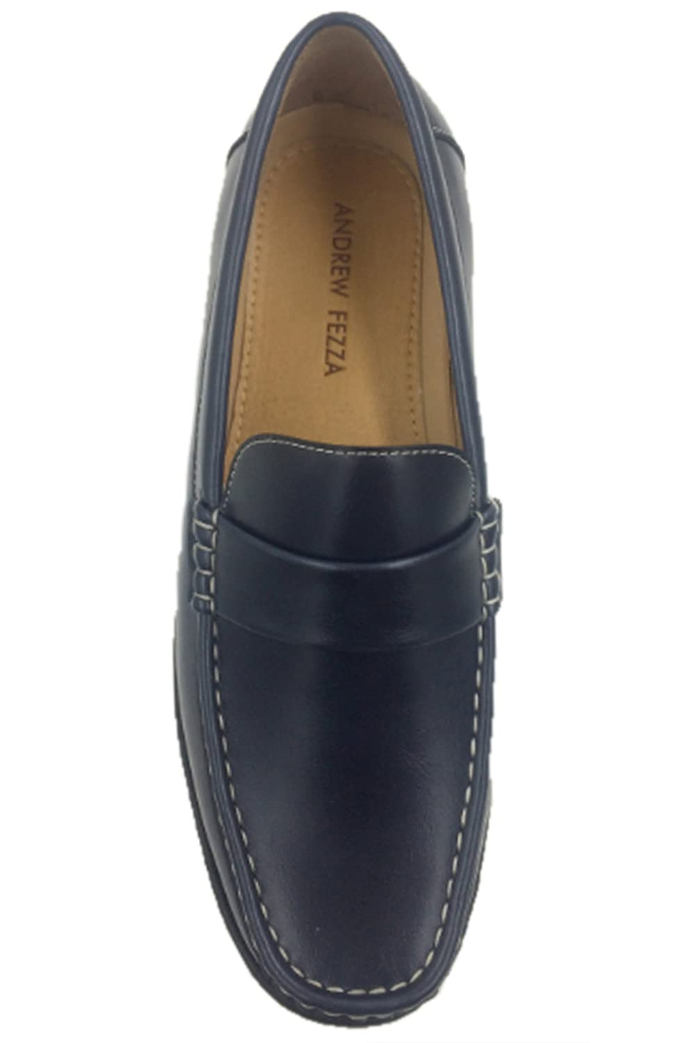 Amazon.com | Andrew Fezza AF-1966 FBM SAM Mens Slip-On Versatile Loafer Shoes | Loafers & Slip-Ons