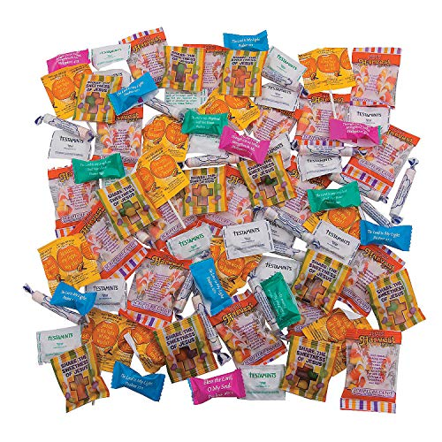 Fun Express - Religious Trick Or Treater Mix for Halloween - Edibles - Assorted Candy - Non Branded Assorted Candy - Halloween - 200 -