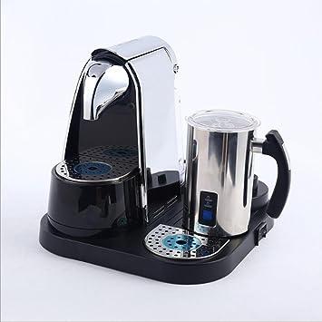 HUWAI YFK máquina de café automática máquina de Leche máquina de café de Acero Inoxidable cápsula de Oficina de Negocios: Amazon.es: Hogar