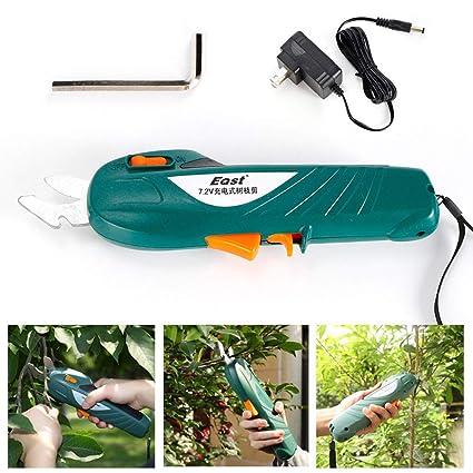 Amazon.com: SHZICMY - Tijeras de podar eléctricas para ...