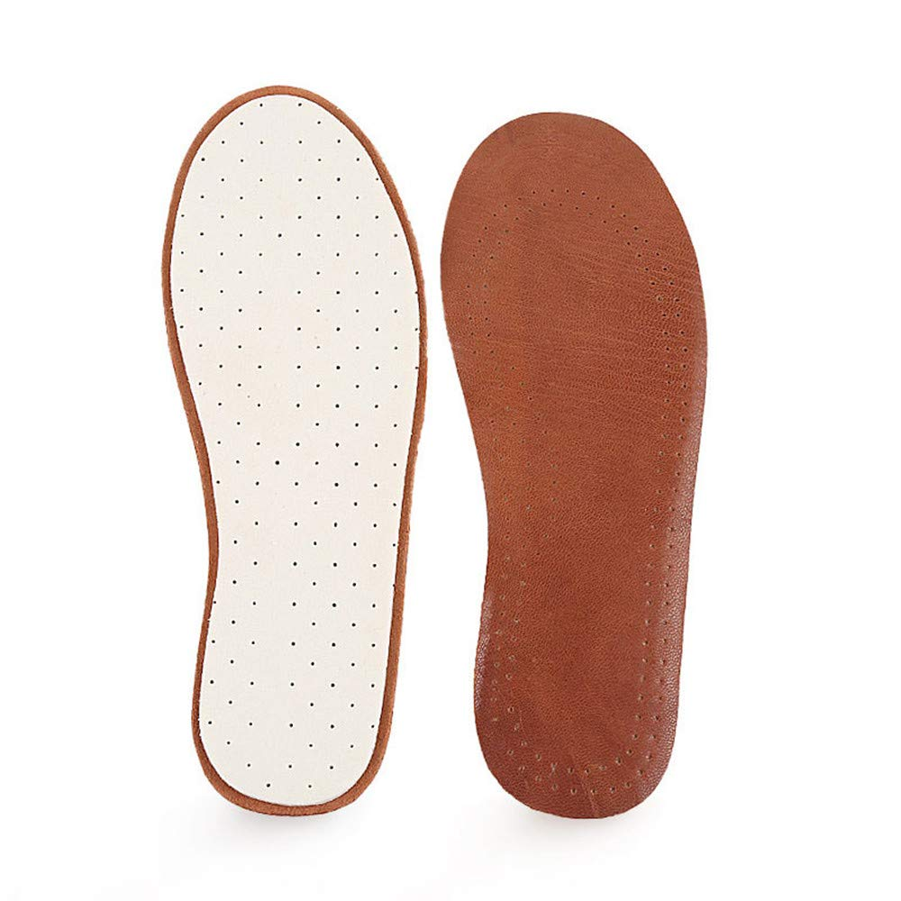 1Pair leather shoes pad antiperspirant breathable sweat absorbing summer thin anti-odor insole for children kids