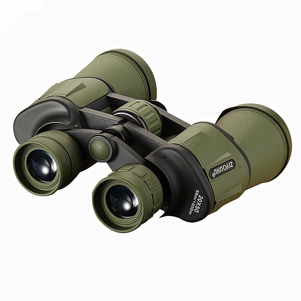 zxcvlina高倍率双眼鏡20 x 50高品位low-light表示メガネのナイトビジョン屋外使用 グリーン zxcvlina  グリーン B07FK5L457