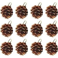 VOSAREA 12 colgantes de Navidad con forma
