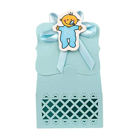 Amazon.com: Xiaogongju - 12 bolsas de papel para baby shower ...