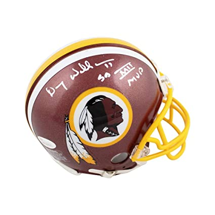 cecb6336 Image Unavailable. Image not available for. Color: Doug Williams SB XXII  MVP Autographed Redskins ...