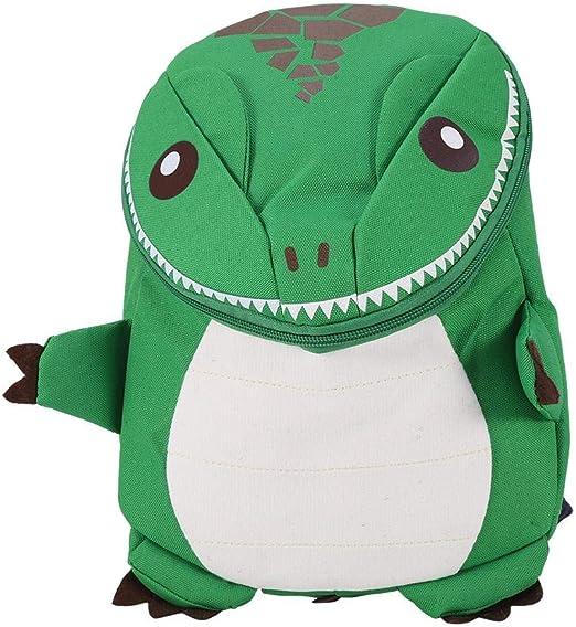 Kid Boy Girl 3D Cartoon Dinosaur Backpack School Bag Rucksack For Kindergarten