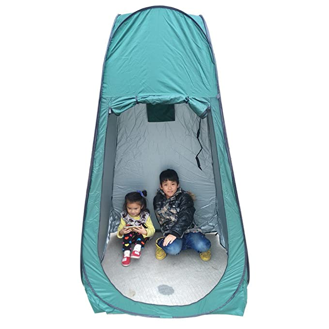 Yontree Pop up Toilet Tent Outdoor Portable Changing Room Shower ...